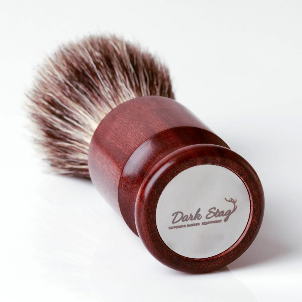 Dark Stag Badger Shaving Brush