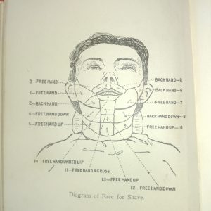 Moler's Diagram of a face for shave